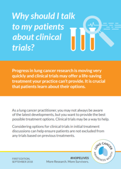 Provider Card - Clinical Trial